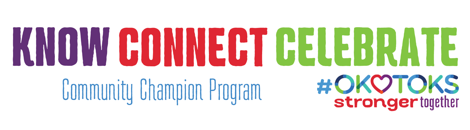 Know. Connect. Celebrate with the Community Champion Program