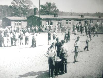 Prisoner of War Camp at Lamsdorf. 1940s.