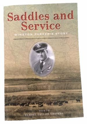 Saddles and Service book front cover