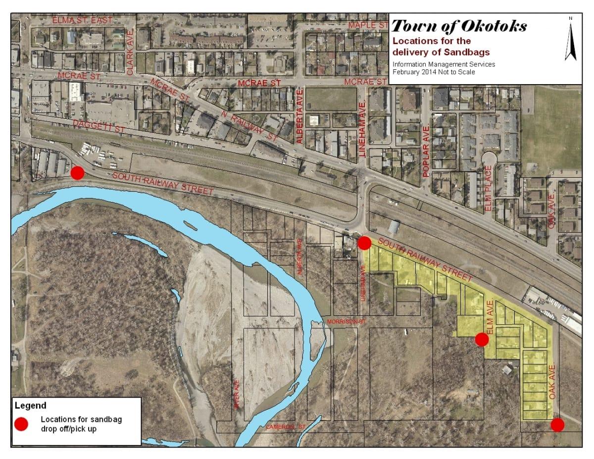 Flood Planning The Town of Okotoks