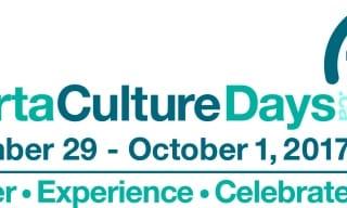 Alberta Culture Days 2017