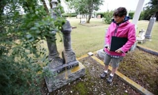 Okotoks Cemetery walking tour