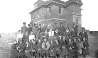 Okotoks Upper School 1913