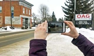 Teen Film Exhibition Iphones