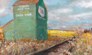 Jennifer Stables art grain elevator alberta