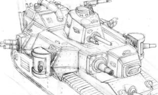 WWI Drawing Tank