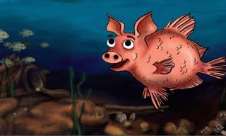 WP Puppet Pig Fish
