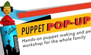 WP Puppet Theatre Finger Puppet Workshop