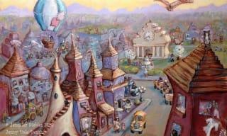 Jennifer Stables art city