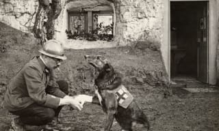 World War I soldier