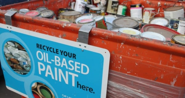 Oil Based paint recycling