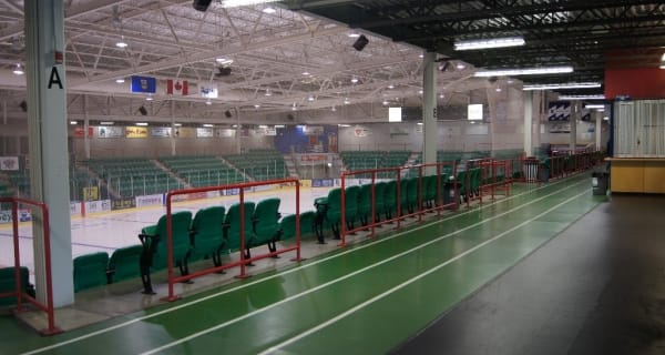 Pason Centennial Arena Indoor Walking Track