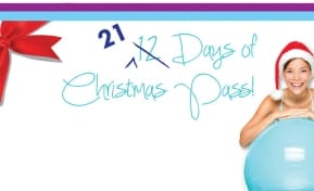 Christmas fitness pass sale at the Okotoks Recreation Centre