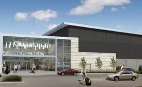 Pason Centennial Arena Expansion Conceptual Drawing