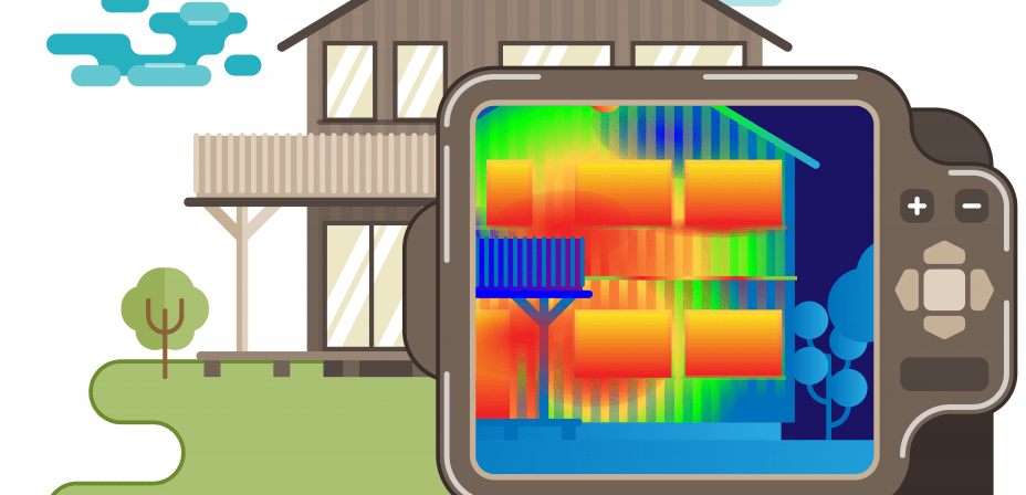 Thermal imaging for home