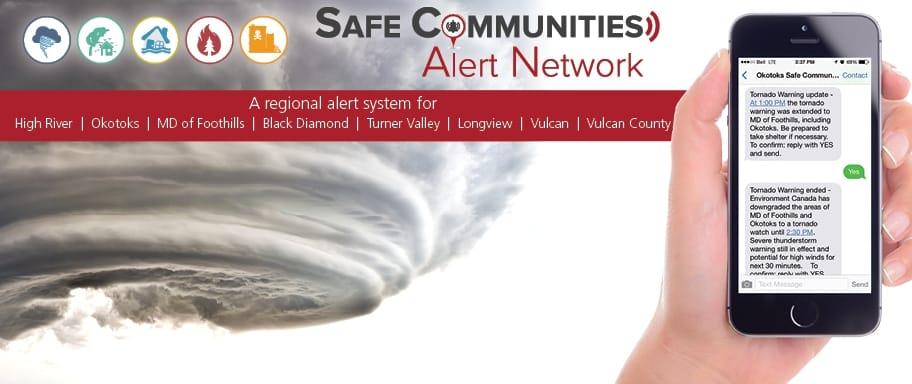 Safe Communities Alert Network - emergency notification system