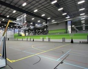 Legacy Regional Field House Red Field Sport Hard Court