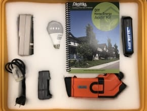Do it yourself home energy audit kit the town of okotoks diy energy audit kit solutioingenieria Image collections