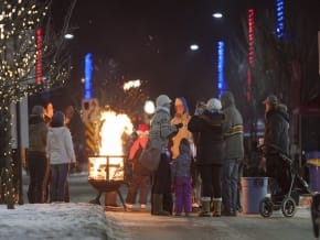 Light Up Okotoks, photo by The Eagle 100.9