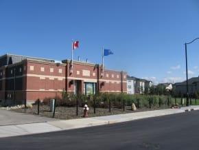 Drake Landing Solar Community,Energy Centre, Okotoks , Alberta