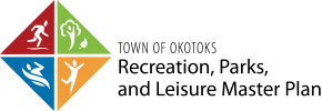 Rec, Parks and Leisure Master Plan logo