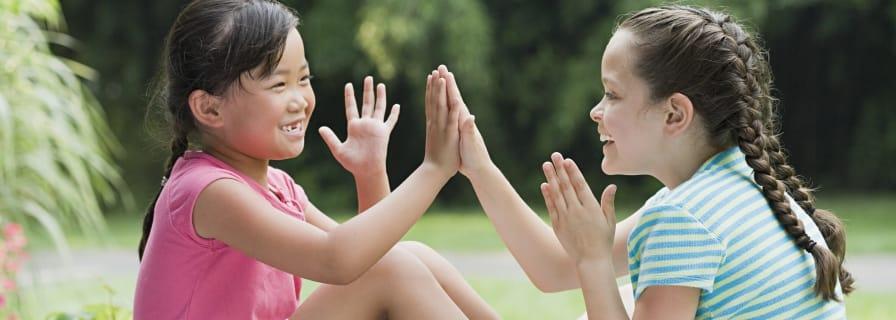 Happy children recreation social programs
