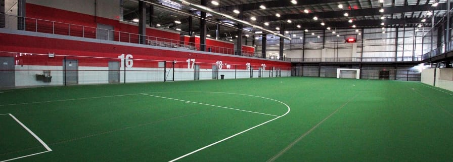 Legacy Regional Field House Red Field Sport Playing