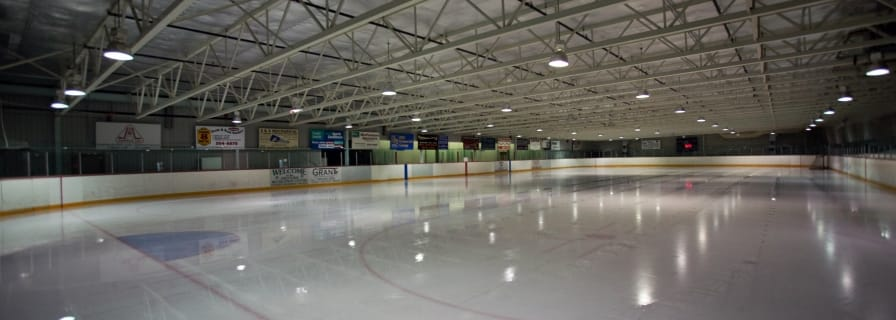 Okotoks Recreation Centre Ice Arena Hockey Murray