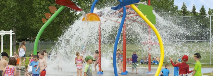 Water Spray Park