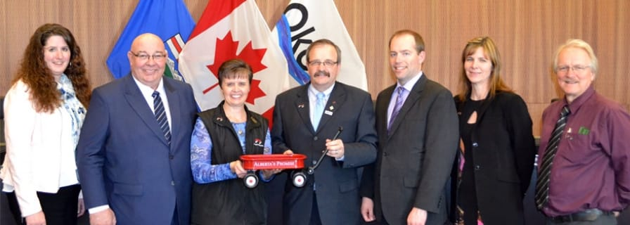 Okotoks Council Presentation - Alberta's Promise Partner Community