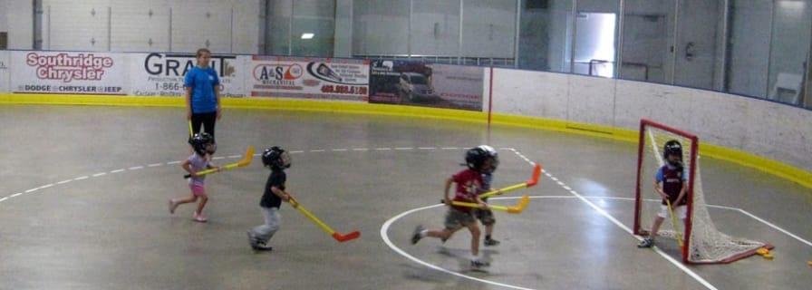 Okotoks Recreation Centre Arena Dry Pad Registered Program Kids