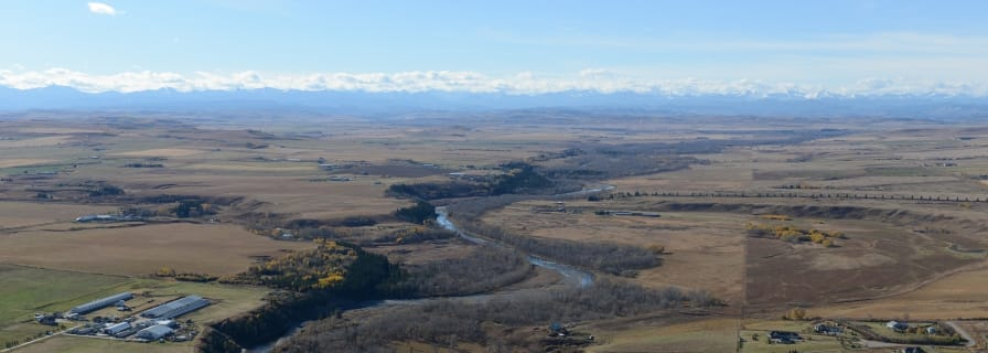 Sheep River Valley and the Foothills