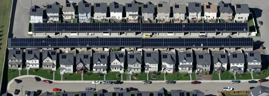 Drake Landing Solar Community, District Heating System, Okotoks , Alberta