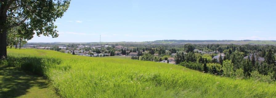 Town of Okotoks, ridge view, beauty shot