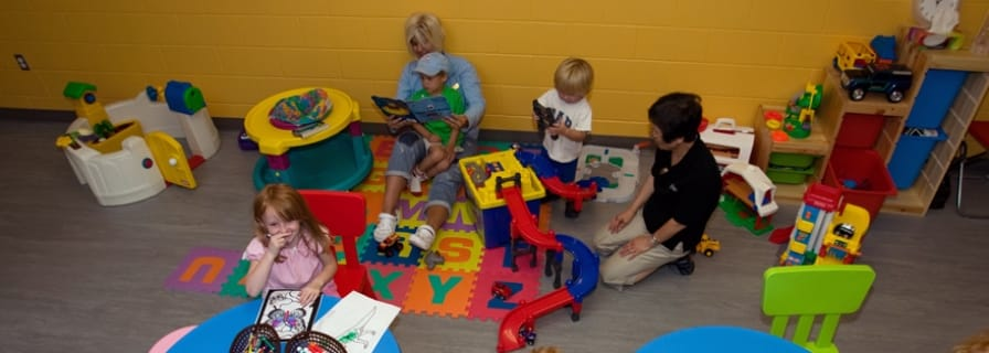 Okotoks Recreation Centre Kindercare Childminding Service Babysitting