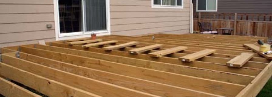 Building A Deck The Town Of Okotoks