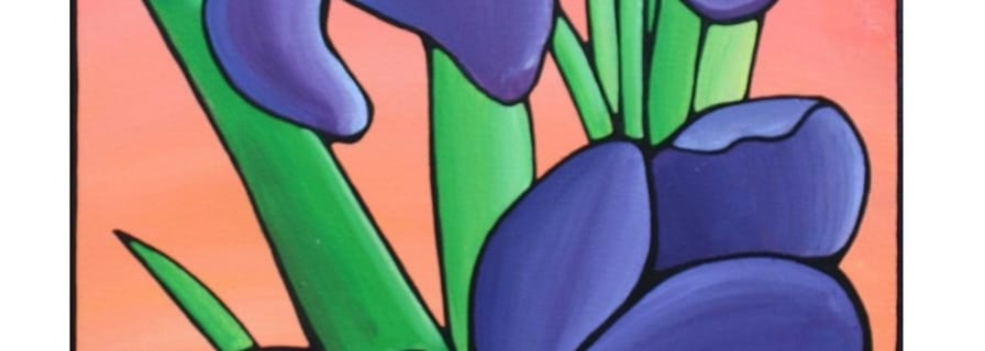 Floral Painting Kathy Lycka
