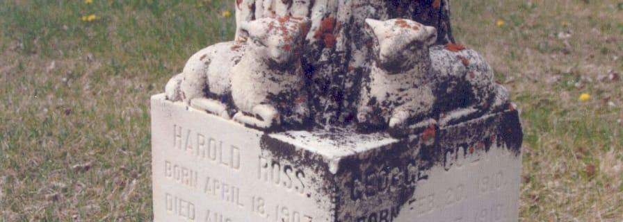Morrison Headstone Okotoks Museum & Archives
