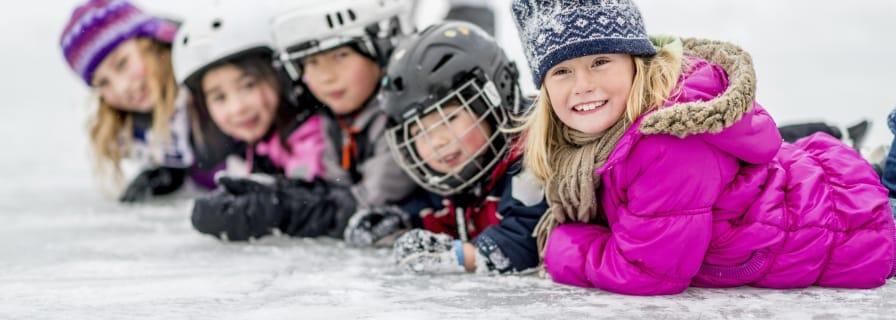 Outdoor Skating Kids