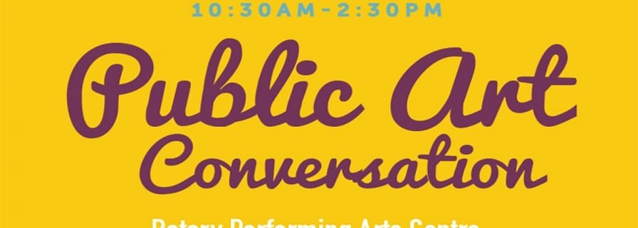 Public Art Conversation banner