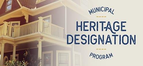 Municipal Heritage Designation Program