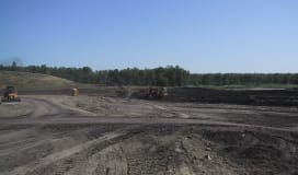 Site stripping, filling, excavation, grading and/or re-contouring require a Development Permit.