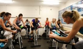 Okotoks Recreation Centre Drop In Fitness Class Spin Cycling