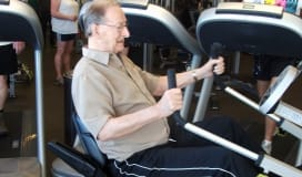 Living Well Program Okotoks Recreation Centre fitness exercise senior