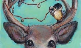 Jennifer Stables art bird call
