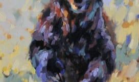 Erica Neumann art bear oil