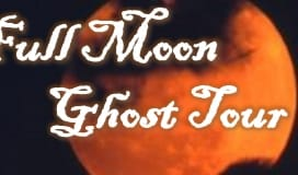 Full Moon Ghost Tour Poster