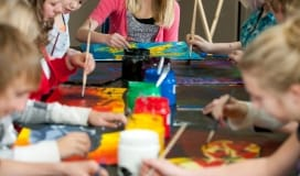 Children's Art Birthday party education program okotoks art gallery