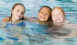 teen youth girls swimming lesson program registered okotoks recreation centre rec