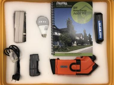 Do-It-Yourself Home Energy Audit Kit